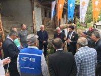 MHP adayı kılıç Oltu'da seçmenle bir araya geldi