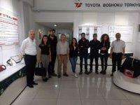 Sakarya Üniversitesi ile Toyota Boshoku arasında işbirliği