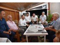 Başkan Ayaz'dan ilçeye taşınan vatandaşlara ziyaret