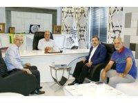Alevi Kültür Dernekleri Genel Başkan Yardımcısı Kurt'tan, Başkan Kutlu'ya ziyaret