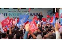 Ak Parti Erzurum'u karış karış gezdi, Ak icraatları anlattı