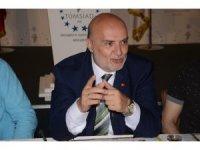 AK Parti Milletvekili Adayı Ahmet Yelis, TÜMSİAD'ı ziyaret etti