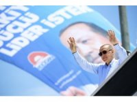 """Cumhurbaşkanı Erdoğan: """"Benim kardeşlerim, vatandaşlarım Pazar günü gereken dersi verecek"""""""