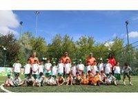 Çankayalı çocuklar yaz spor okulunda