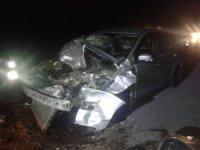 2 Rus turist, hurdaya dönen araçtan burnu bile kanamadan çıktı