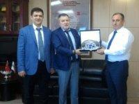 Rusya'nın Trabzon Başkonsolosu'ndan DKİB'e ziyaret
