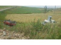 Kaman ilçesinde trafik kazası 3 yaralı