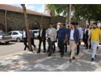 Başkan Ekinci Siverek kırsalında ziyaretlerde bulundu
