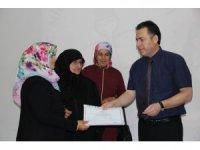 Niksar'da Okuma Yazma Seferberliği Sertifika Töreni