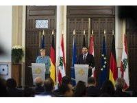 Merkel, Lübnan Başbakanı Hariri ile  görüştü