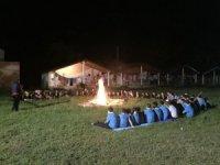70 izci Sarısu'da kamp yaptı