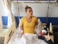 Sivrisinek ısırığı ile hastaneye kaldırılan Leyla Bilginel'den açıklama