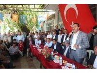 Bakan Tüfenkci'ye Doğanşehir'de sevgi seli
