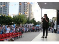 Bakan Çelik ve Bakan Sarıeroğlu mahalle mitingde halka seslendi
