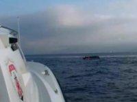 Kuşadası Körfezi'nde 3'ü çocuk, 16'sı kadın 41 kaçak göçmen yakalandı