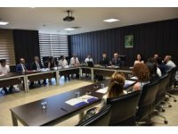Unvanda yükselen akademisyenler Rektör Bilgiç ile buluştu