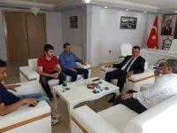 TKDK'dan Başkan Kılıç'a Ziyaret