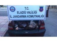 Elazığ'da 500 kilo kaçak sakatat ele geçirildi