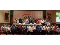 Lastik sektörü temsilcileri ATO'da buluştu