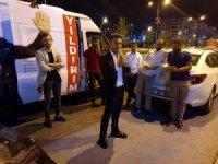 Bağımsız milletvekili adayı Özkan'ın seçim minibüsü ile girmediği sokak kalmadı