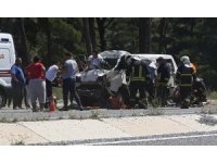 Kamyonet sürücüsü olay yerinde yaşamını yitirdi