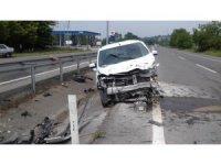 Ferizli'de trafik kazası: 1 yaralı