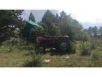 Tosya'da traktör devrildi: 1 yaralı