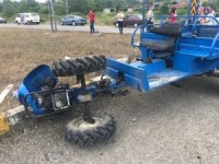 Zonguldak'ta patpat kazası; 1 yaralı