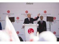 """MHP Lideri Bahçeli: """"İnce, inceldiği yerden yarın kopacaktır"""""""