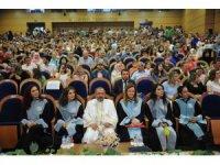 Ahmet Erdoğan Sağlık Hizmetleri MYO'da mezuniyet coşkusu