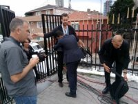 Cumhurbaşkanı Erdoğan'ın oy kullanacağı okulda yoğun güvenlik önlemi