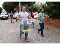 Çanakkale'de Cumhurbaşkanı ve 27. Dönem Milletvekili Genel Seçimi için oy verme işlemi devam ediyor