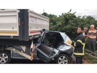 Düzce'de seçim günü feci kaza: 2 ölü, 2 yaralı