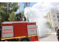Trafoda yaşanan patlama korkuttu