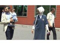 Cumhurbaşkanı Erdoğan'ın küçük torunu Canan Aybüke ilk kez görüntülendi