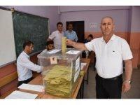 Muş'ta oy verme işlemleri tamamlandı