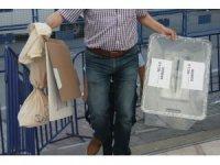 Samsun'da oy sayımı devam ediyor