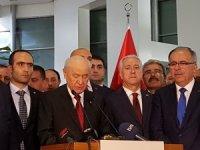 """MHP Lideri Bahçeli: """"Türk milleti MHP'yi kilit partisi yapmış"""""""