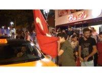 Kırıkkale'de seçim zaferi coşkusu