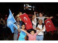 Aydın'da AK Parti'nin zaferi coşkuyla kutlandı