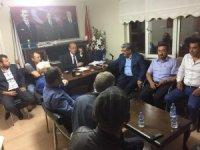 Başkan Ferit Karabulut'dan MHP İlçe Başkanı Akbunar'a teşekkür ziyareti