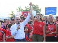 Büyükçekmece Belediyesi Yaz Spor Okulları görkemli bir törenle açıldı
