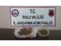 Jandarmadan kaçak sigara ve uyuşturucu operasyonu