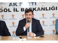 """AK Partili Yılmaz: """"Cumhurbaşkanımız ve 81 milyon kazanmıştır"""""""