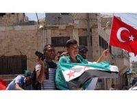 Suriye, Erdoğan zaferini kutluyor