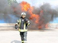 """AOSB'de """"Yangın Önleme, Söndürme Eğitimi ve Tatbikatı"""""""