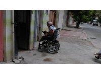 Engelli vatandaşın yardımına Yunusemre Belediyesi koştu