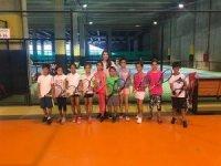 Tekirdağ'ın minik tenisçileri İatanbul'dan başarı ile döndü