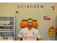Beşiktaşlı futbolcular sağlık kontrolünden geçti