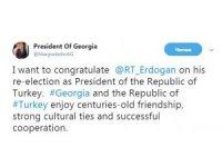 Gürcistan Cumhurbaşkanı Margvelaşvili'den Erdoğan'a tebrik